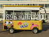 电动四轮餐车移动小吃车冰淇淋小吃车流动早餐车