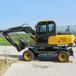 兴安出售XI小型轮式挖机型号齐全