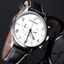 阿玛尼手表怎么样,进口石英手表,走时稳定佩戴舒适