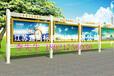 广告灯箱宣传栏公交候车亭哪家好首选沧州宜尚宣传栏设计生产性价比最高