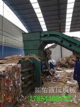 热销内蒙80吨100吨160吨废纸箱塑料液压打包机厂家直销赠送配件图片