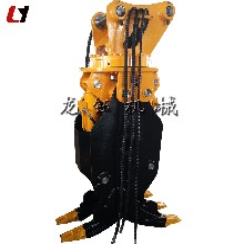 工厂供应挖掘机液压夹木机新款废铁抓手图片
