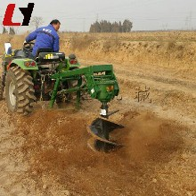 质保两年新型车载式挖坑机家用植树挖坑机苗木图片