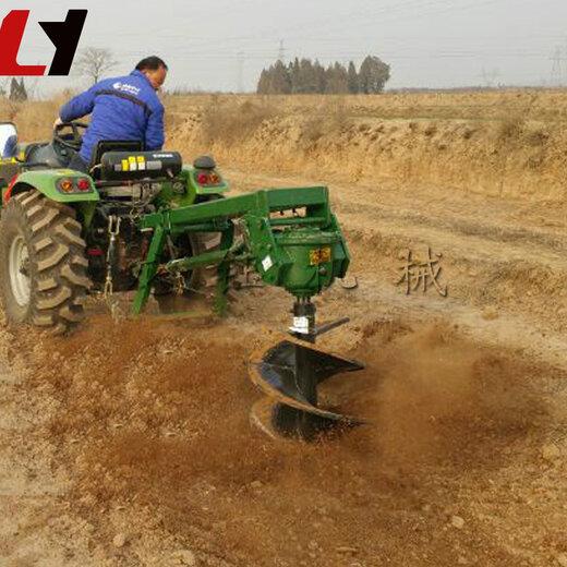 拖拉机挖坑机 (2)