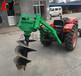 輕便式植樹挖坑機可定做新品山地植樹挖坑機植樹拖拉機鉆孔機