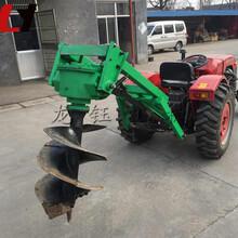 小型四輪拖拉機植樹挖坑機可定做汽油種樹挖坑機生產廠圖片