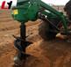 手提式植樹挖坑機長期供應多用途拖拉機帶挖坑機拖拉機帶挖坑機