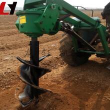 工程用挖坑机全新质保加厚型挖坑栽树机拖拉机挖坑机报价图片
