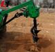 山地挖坑机长期供应多功能便携式植树挖坑机园林拖拉机挖坑机