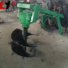 多功能大马力拖拉机挖坑机高产量后悬挂挖坑机原理图片