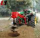 大馬力拖拉機挖坑機全國聯保多功能多功能植樹挖坑機山地植樹挖坑機