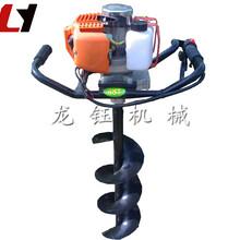汽油便携式挖坑机/专业定做新款52cc手提挖坑机小型单人手提式钻孔机/植树挖坑机图片图片