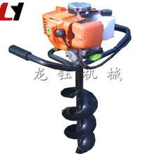 新型機械挖坑機黑龍江定做單人手提式鉆孔機圖片