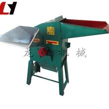粗飼料粉碎機加工定制中型秸稈打粉機械圖片