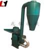 高產量錘片式飼料粉碎設備三相電沙克龍飼料粉碎機原理