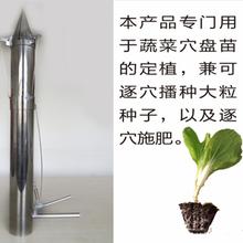 高产量育苗移栽器/专业定做家用药材栽苗机/龙钰公司手动移栽机图片