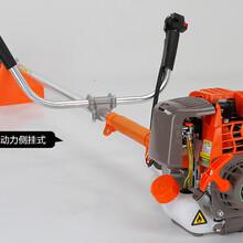 高效斜挎式割草机/品牌热销新型背负式微耕机/小型山地割草机图片