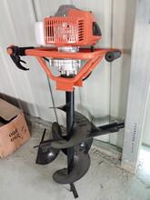 新型双人挖坑机高产量树木挖坑机原理图片