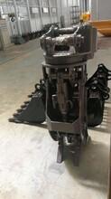 钩机液压旋转抓木机/专业生产挖掘机废钢抓钢机/挖机旋转式抓木机图片