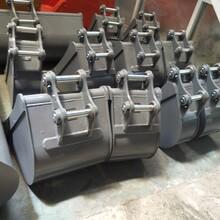 高强度液压挖斗/可定做勾机反铲挖斗/特制挖土机标准挖斗图片