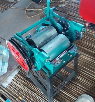 电动挤扁机价对辊式挤扁机