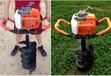 82cc手提挖坑機可定做高效手提式鉆孔機種樹挖坑機