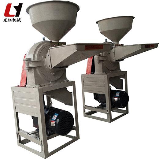 齒爪式燕麥粉碎機廠家供應新型食品調料粉碎機