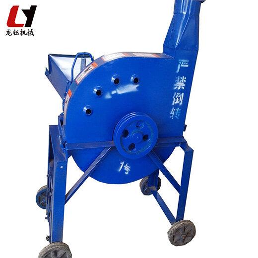龍鈺鍘草粉碎機,家用滾刀式鍘草機