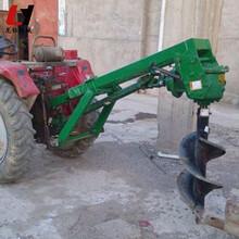 赣州悬挂式挖坑机土地挖坑打穴机山药种植挖坑机厂图片