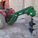 贛州懸掛式挖坑機土地挖坑打穴機山藥種植挖坑機廠