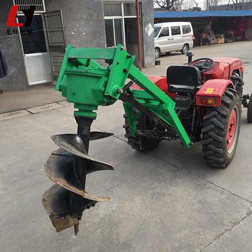 小型拖拉机挖坑机械,植树挖坑机
