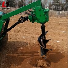 济源挖坑钻洞机挖坑机钻头定做图片