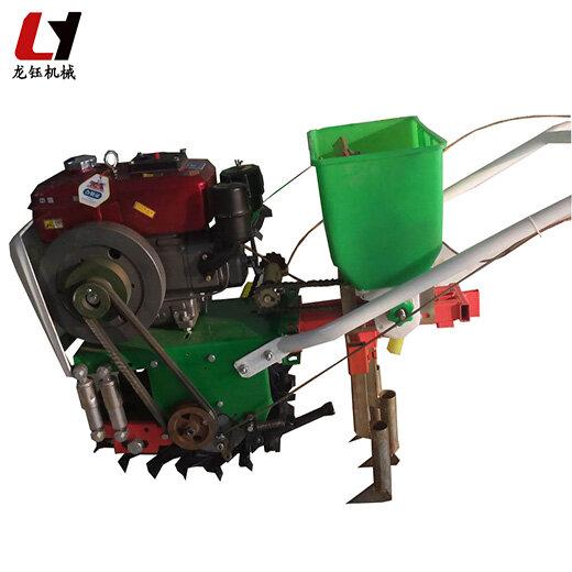 龍鈺玉米播種機,高產量手動水稻播種機