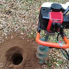 大型小型植樹挖坑機,手提式挖坑機圖片