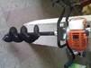 龍鈺兩沖程挖坑機,定做林業挖坑機