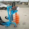 中型便携式汽油挖坑机