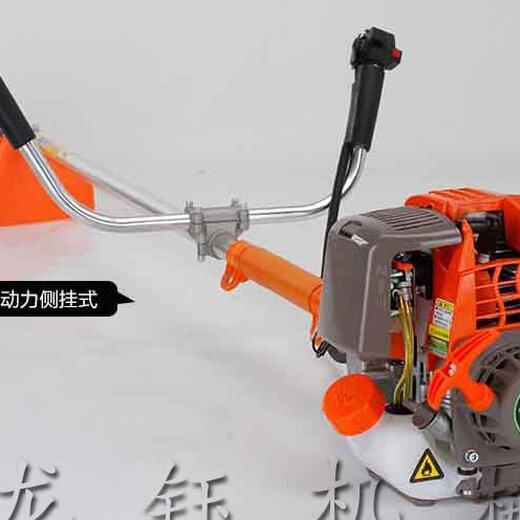 龍鈺兩沖程割草機,斜跨式微耕機