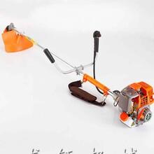 小型汽油式割草机杂草清理机图片