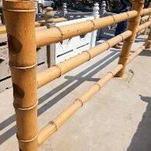 水泥仿木护栏,水泥仿木栏杆,仿腐木栏杆,仿树皮护栏图片