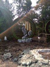 杭州景观雕塑定制,景观小品雕塑制作,杭州泡沫雕塑价格图片