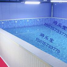 石家庄室内大型钢结构游泳池水育早教游泳池