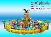 河南平頂山飛鼠大營救2017兒童喜歡的游樂設施。好玩坐人多,小朋友都喜歡的游樂設備