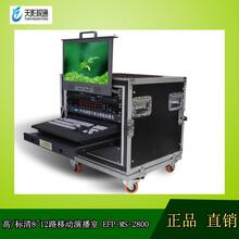 天影视通厂家TS2800高清/标清8路移动箱载演播室洋铭导播台录像机