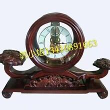礼品工艺品饰品,深圳高档木制时钟,钢琴漆木制钟表