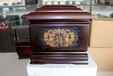 黑檀木内雕高档骨灰盒棺材寿盒厂家直销价格促销骨灰盒丧葬用品