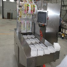 潍坊鸭翅连续盒式全自动真空包装机