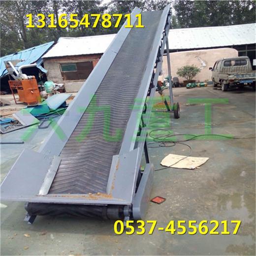 南京防滑皮带输送机图片