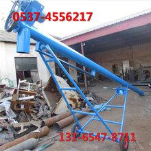 石子螺旋输送机,水泥粉环保螺旋提升机图片