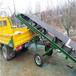 擋邊帶式輸送機固定式擋邊輸送機Ljxy裝車卸車輸送機