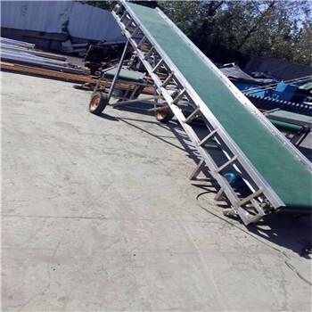 不锈钢皮带机自动升降运输机六九重工水平式传送机